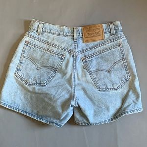 LEVIS 910 Classic Fit High Waist Shorts USA 8